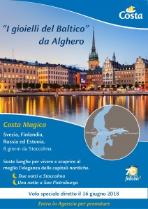 I Giioielli del Baltico da Alghero 16 Giugno 2018